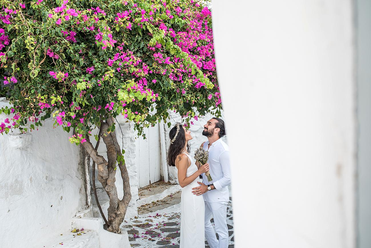 mykonos pre wedding