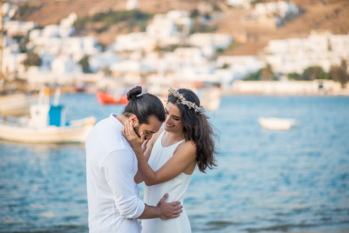 ceremony in mykonos