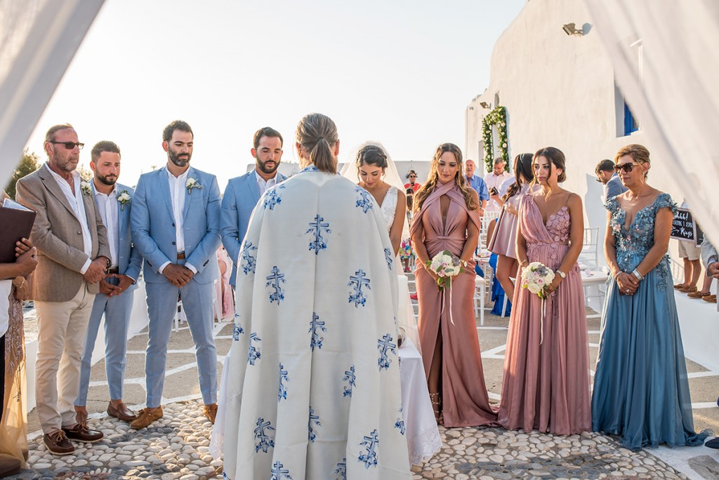 dream wedding in greece