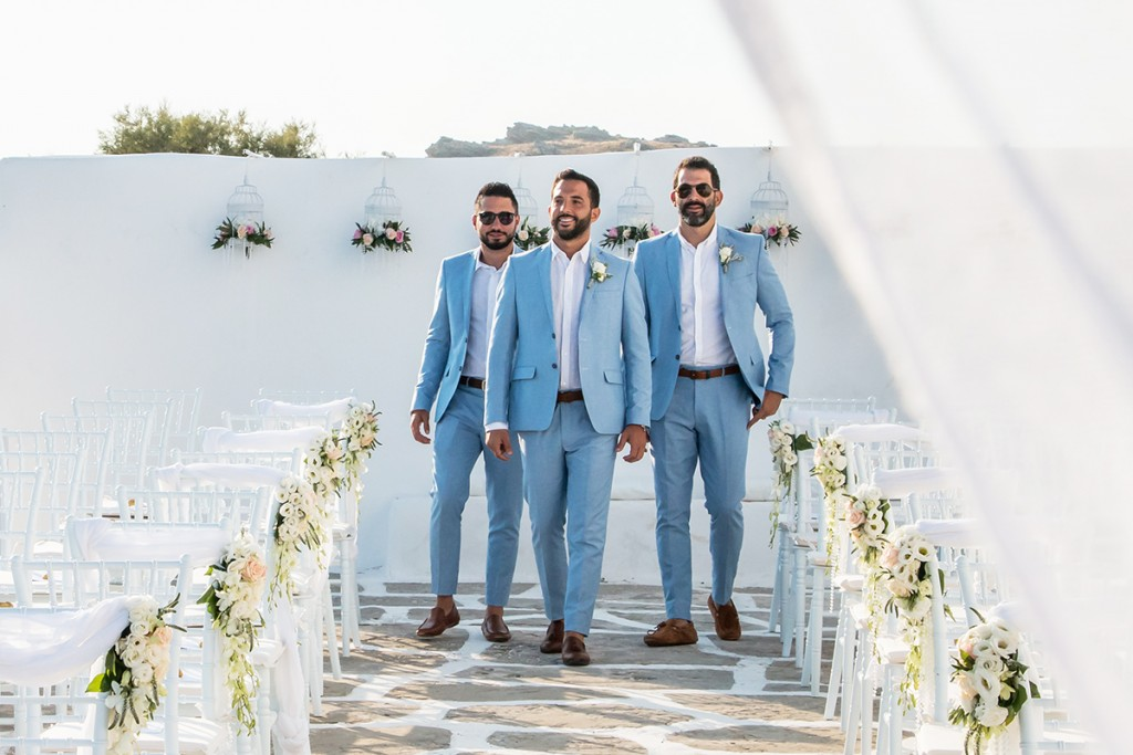 wedding photography in Paros