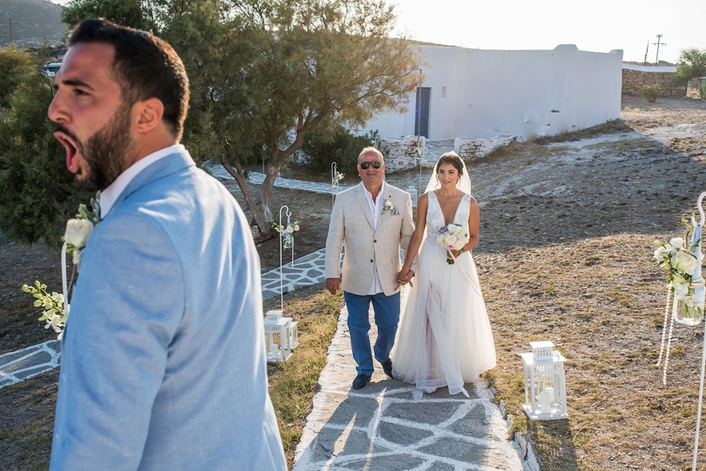 destination wedding in Paros