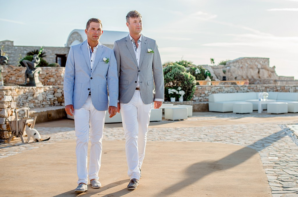 Same sex wedding in Paros Island/Greece