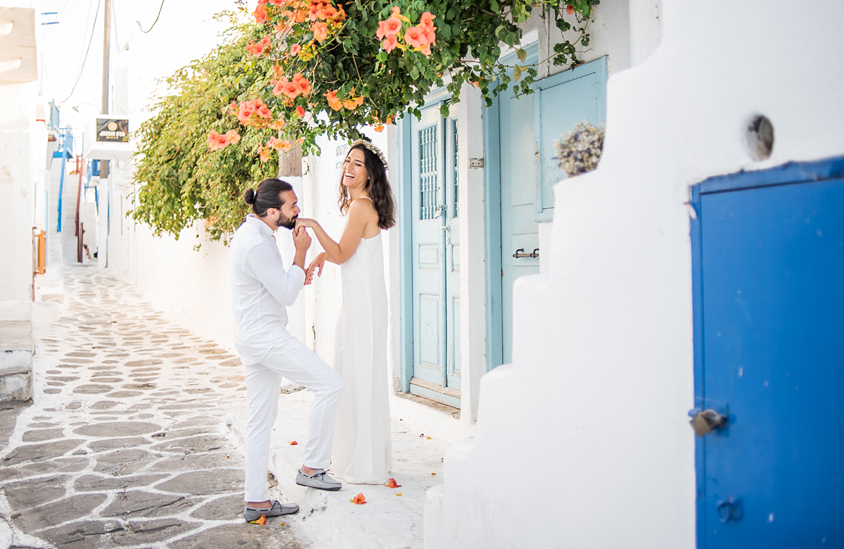 mykonos ceremony