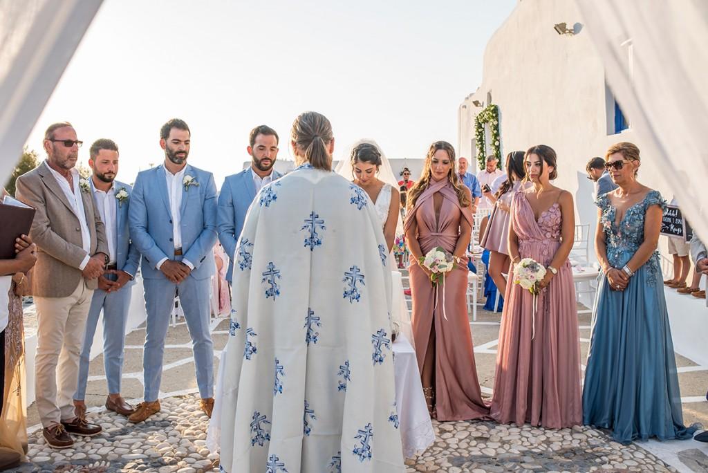 dream wedding in greece