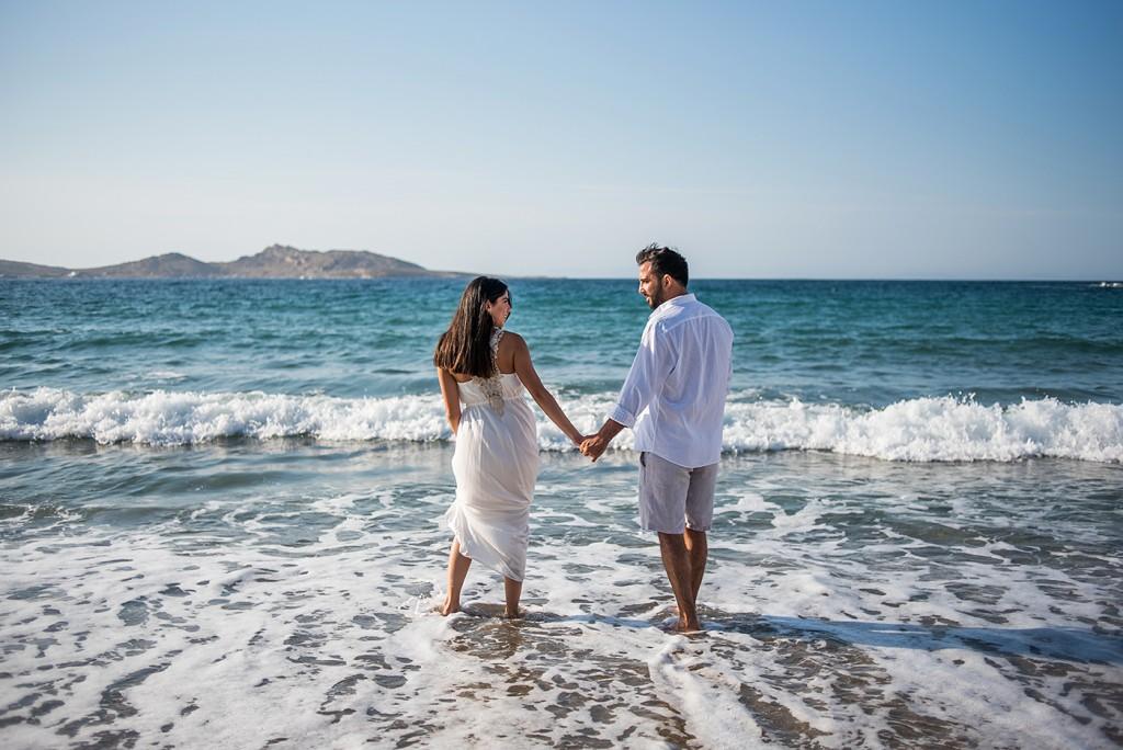 Wedding photography in Mykonos