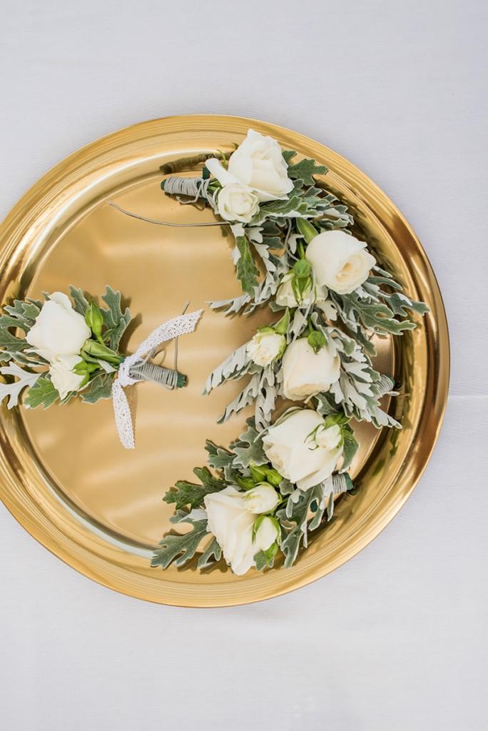 wedding details in greece